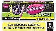 Intimus Absorvente Interno Sport Médio, 8 unidades