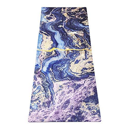 Yoga Design Lab Pendler Yogamatte 1,5mm   rutschfest, Faltbar, Leicht, Matte/Handtuch, Waschmaschinenfest   mit Tragegurt