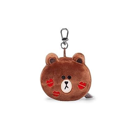 Amazon.com: Llavero de peluche con diseño de Line Friends ...