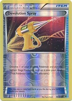 French designer card pokemon Spray dice-evolving-xy10 impact of Fates 95//124