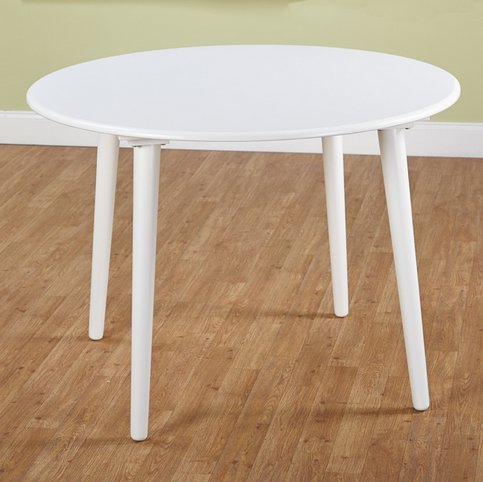 small white dining tables
