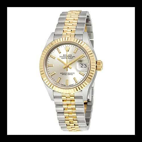 Rolex Lady Datejust Silver Dial Steel and 18K Yellow Gold Automatic Ladies Watch 279173