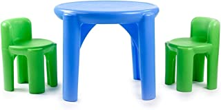 product image for Little Tikes Bright 'n Bold Table & Chairs, Green/Blue