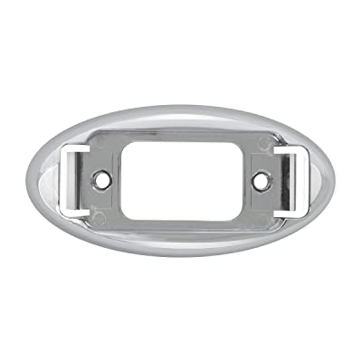 Grand General 78179 Marker Light (Clear Plastic Oval Rim for 1Bulb Small rectangle Sealed), 1 Pack: Automotive
