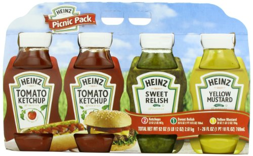 Heinz Picnic Pack - 4pc