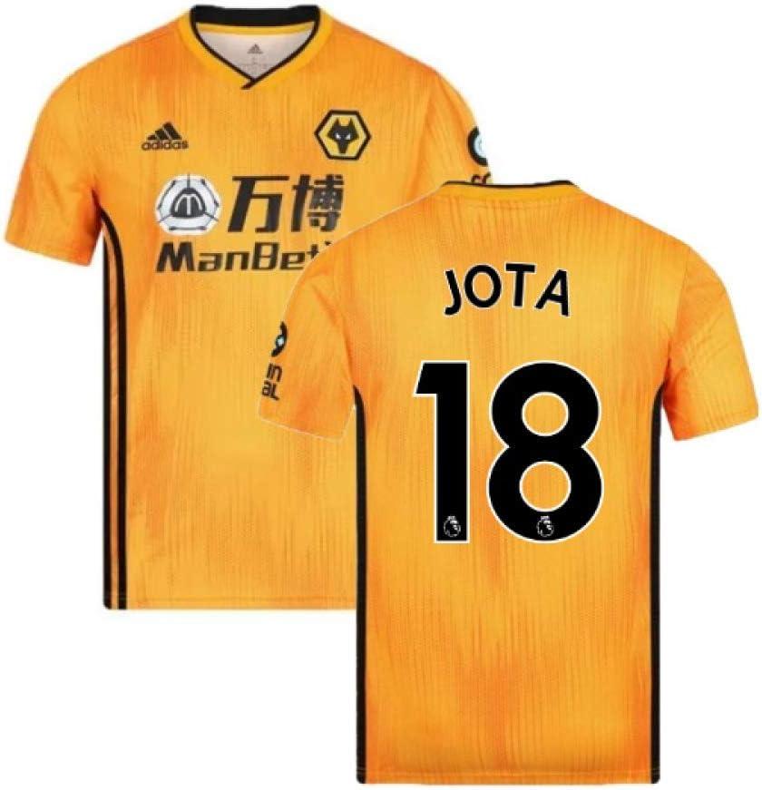 Diogo Jota 18 2019-2020 Wolves Home Football Soccer T-Shirt