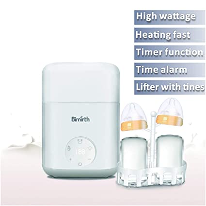 Baby Bottle Warmer Steam Sterilizer Food Breastmilk Heater Fast Milk Warmer