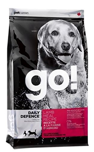 PETCUREAN 152056 Go Daily Defense Lamb Dry for Dogs, 12-Pound