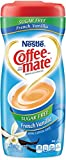 Nestle Coffee-Mate Coffee Creamer Sugar Free French Vanilla, Pack of 6 (10.2 Ounce)