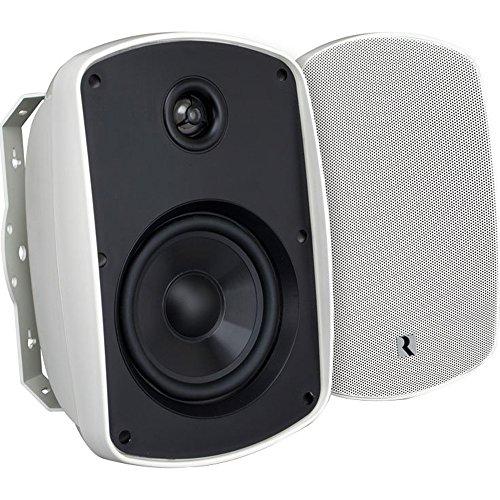 "Russound Acclaim 5 Series 6-1/2"" 2-Way Indoor/Outdoor Speakers (Pair) White 5B65 WHITE"