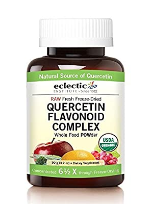 Eclectic Institute, Quercetin Flavonoid Complex, Whole Food POWder, 3.2 oz (90 g) by Eclectic Institute