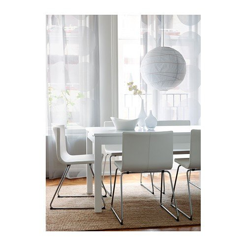 Ikea regolit   lampada a sospensione con paralume in carta a forma ...