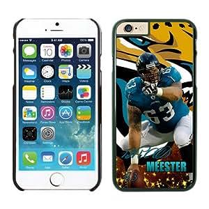 Jacksonville Jaguars Brad Meester iPhone 6 Plus NFL Cases Black 5.5 Inches NIC12896