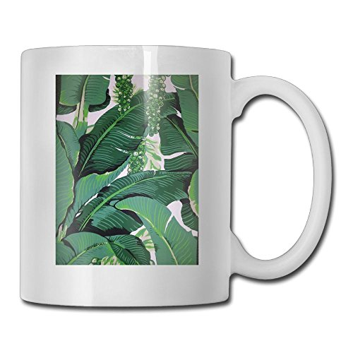 Banana Leaf Porcelain - Banana Leaves Fashion Coffee Cup Porcelain Mugs