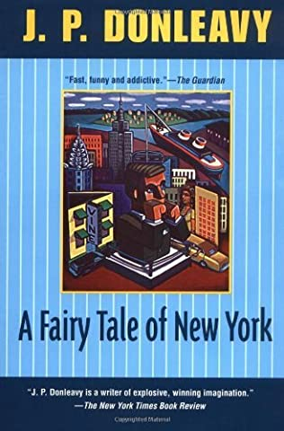 book cover of A Fairy Tale of New York