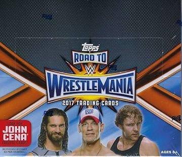 2017 Topps WWE 'Road to WrestleMania' Wrestling RETAIL bo...
