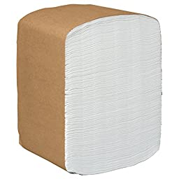 Scott Paper Dinner Napkins (98740), Disposable, White, 1/8 Fold, 2-Ply, 12 x 13 (Unfolded), 16 Packs of 375 Dinner Napkins (6,000 / Case)
