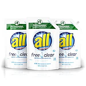 Amazon Com All Liquid Laundry Detergent Easy Pouch Free