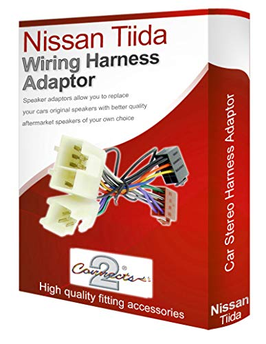 Tiida CD radio stereo wiring harness adapter lead loom: Amazon.co.uk: Electronics