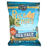 Lundberg Organic Original Sea Salt Rice Chips, 1.5 Ounce - 24 per case.