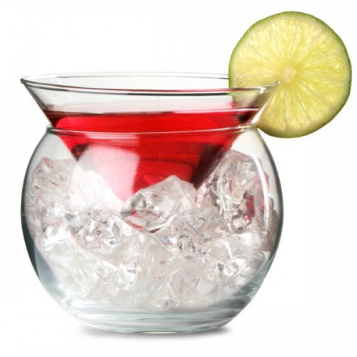 Libbey Martini Chiller 2 Piece Glass - 5.75 (Martini Chiller Set)