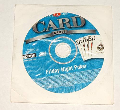HOYLE CARD GAMES - 33 GAMES Bonus Friday Night POker Games cd
