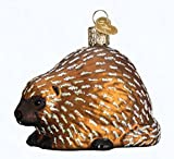 Old World Christmas Glass Blown Ornament - Porcupine