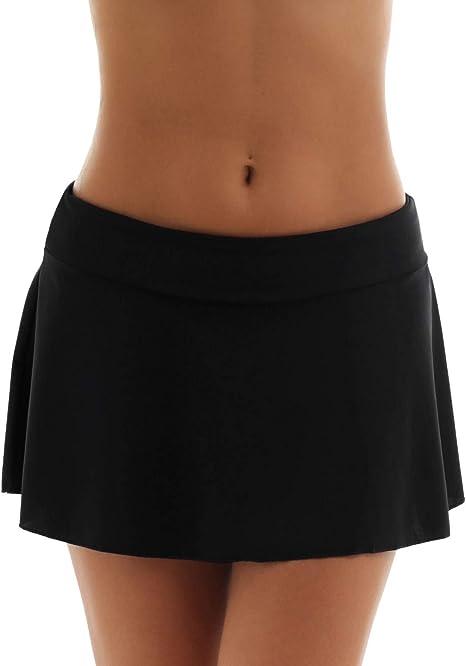MSemis Falda Bikini para Mujer Shorts de Baño Tankini Clásico ...