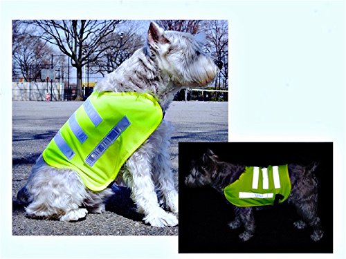 Dog Safety Reflective Jacket Fluorescent product image