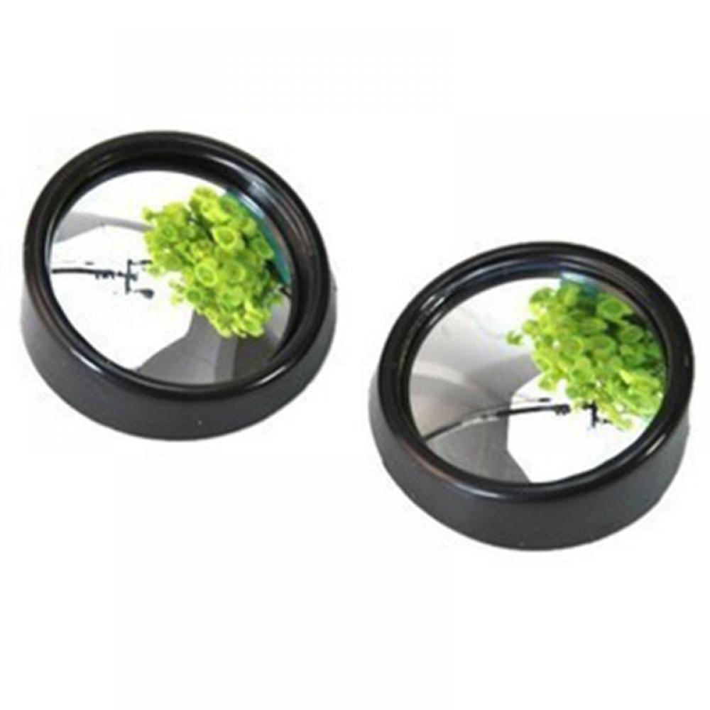 GOOTRADES 4 x Espejo Adhesivo Convexo de Punto Ciego para Retrovisor Coche Ajustable