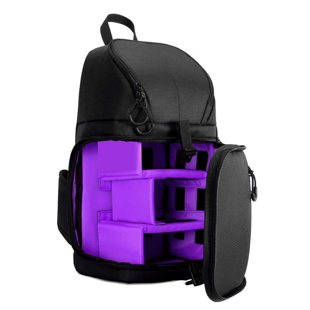 Jhin Stella カメラ/ビデオバッグ - カメラスリングバッグ ショルダークロス デジタル一眼レフケース 防水 レインカバー付き カメラスリング ソフトパッド入り メンズ レディース バッグバックパック - 1個   B07L7T5YGT
