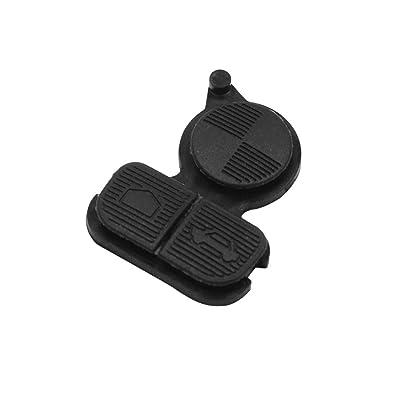 uxcell 3 Buttons Remote Fob Key Button Pad for BMW Series 3 5 7 E38 E39 E36 Z3 Z4 Z8 X3 X5: Automotive