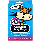 Stalwart Q-64035 Cat Litter Tray Liners (Pack of 25)