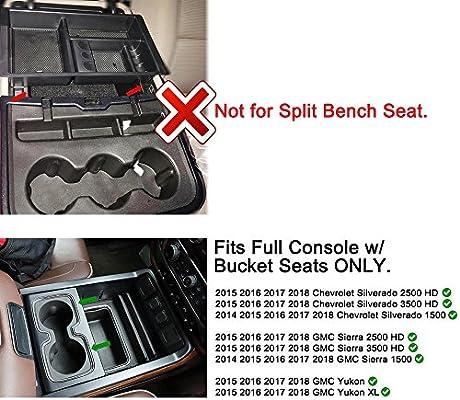 Magnificent Car Center Console Organizer Tray For Chevy Silverado Gmc Beatyapartments Chair Design Images Beatyapartmentscom