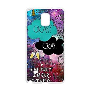 Happy Creative design Okay Cell Phone Case for Samsung Galaxy Note4
