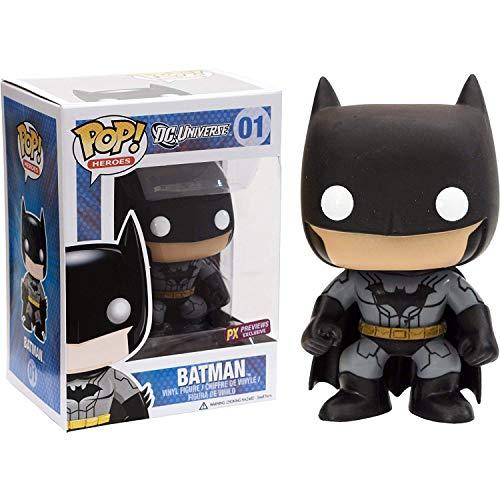 - Funko Batman [New 52] (PX Exclusive): DC Universe x POP! Heroes Vinyl Figure & 1 POP! Compatible PET Plastic Graphical Protector Bundle [#001 / 03027 - B]