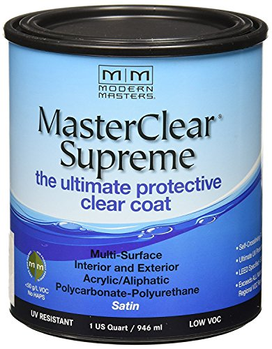 MODERN MASTERS MCS90232 Clear Coat Satin - 4 Pack by Modern Masters