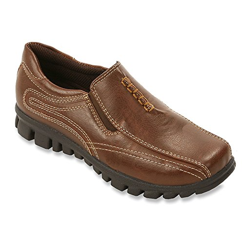 Brown Boys Shoes (Deer Stags Kids Boy's Stadium (Little Kid/Big Kid) Dark Brown Shoe 4.5W (US))