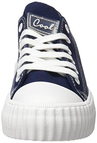 COOLWAY Britney, Zapatillas para Mujer Azul (Navy /   Marino)