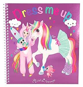 Depesche 8552 Libro para Colorear Pegatinas Fun Dress Me