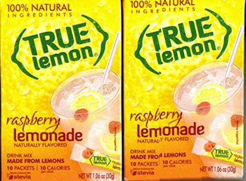 True Lemon Raspberry Lemonade (2 Boxes) 10 Packets in Each Box