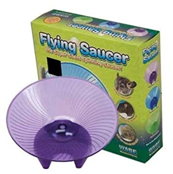 Amazon.com: Ware platillo volador mascota pequeña rueda de ...
