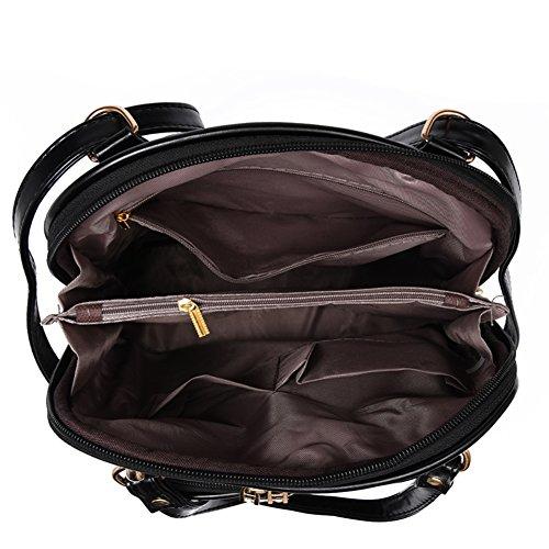 mochila ocasional coreana Sra./Mochila de hombro/Instituto Coreano de viento mochila-A A