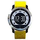Boblov F69 Bluetooth Sports Smart Watch IP68 Waterproof Swimming Heart Rate Monitor Fitness Tracker Sleep Pedometer Wrist Watch For iOS Android Smartphone (Yellow) by Boblov