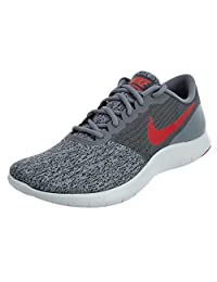 Men's Nike Flex Contact Running Shoe Cool Grey/University Red-Anthracite 9