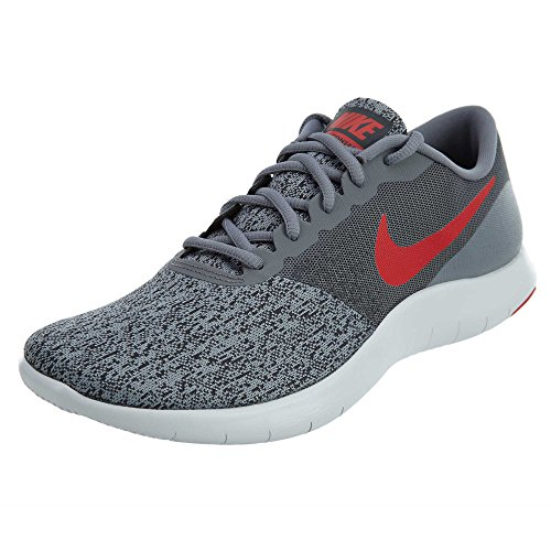 Nike Men's Flex Contact Running Shoes-Cool Grey/University R