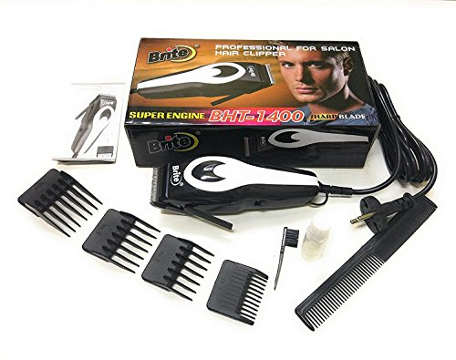 EzLife Brite Professional Electric Hair Trimmer for Men, Women (Orange or MutliColor)[BHT-1400]
