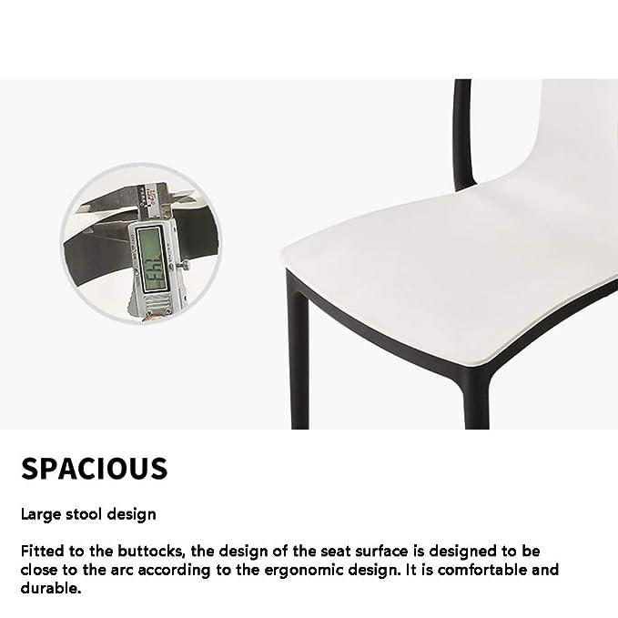 MIMI KING Juego de 4 sillas Modernas Modernas con un cómodo ...
