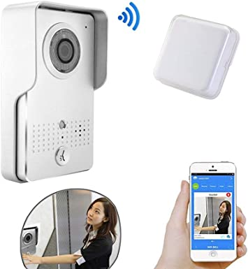 Wireless Wifi Visual Two-Way Intercom Doorbell IP Video Door Phone ...