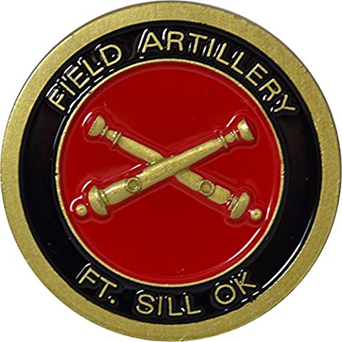 Fort Sill Field Artillery Challenge Coin by Military Productions (Military Fort)